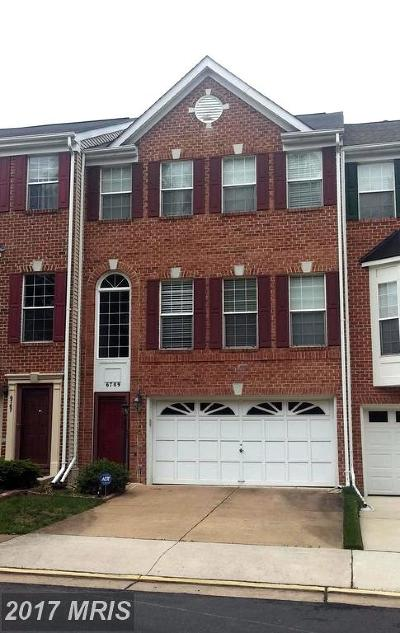 Alexandria VA Townhouse For Sale: $540,000