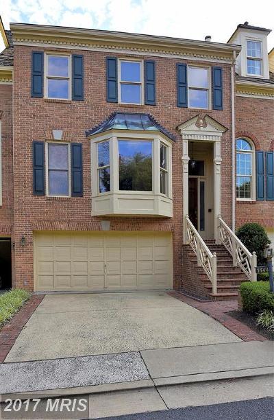Mclean Townhouse For Sale: 1444 Hampton Ridge Drive