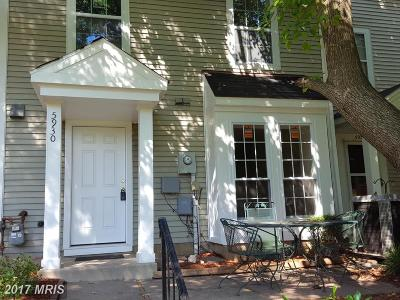 Centreville Townhouse For Sale: 5930 Havener House Way