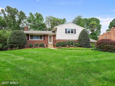 Mclean Single Family Home For Sale: 1824 Baldwin Drive