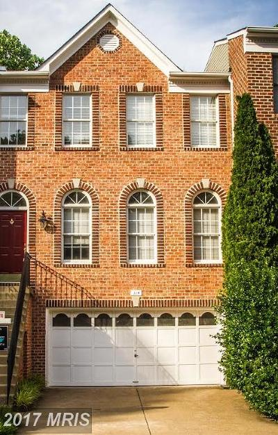 Vienna Townhouse For Sale: 114 Shepherdson Lane NE
