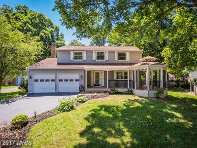 Burke Single Family Home For Sale: 6135 Covered Bridge Road
