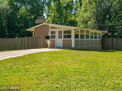 Falls Church Single Family Home For Sale: 2902 Pine Spring Road