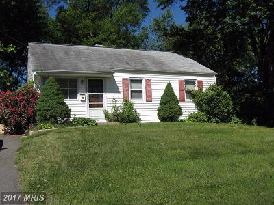 Falls Church Residential Lots & Land For Sale: 1802 Gilson Street
