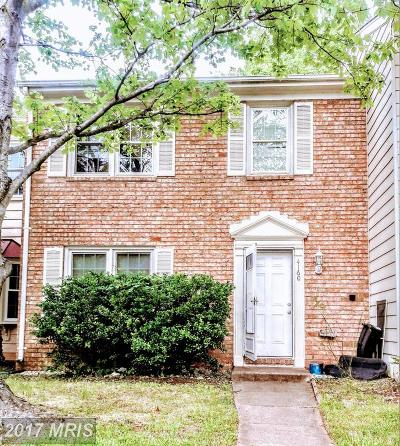 Chantilly Townhouse For Sale: 4160 Hamlin Court