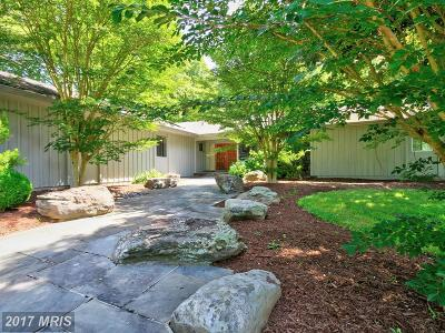 Great Falls Single Family Home For Sale: 9834 Beach Mill Road