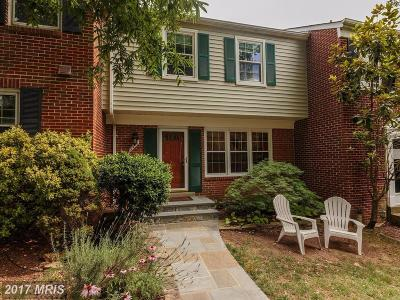 Burke Townhouse For Sale: 5418 Midship Court