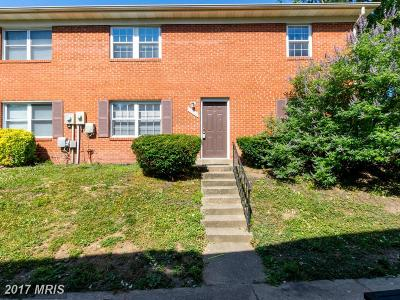 Lorton Townhouse For Sale: 9640 Hagel Circle #D