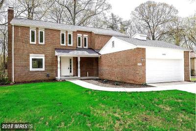 Reston Single Family Home For Sale: 2453 Freetown Drive