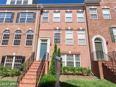 Vienna Townhouse For Sale: 8044 Reserve Way