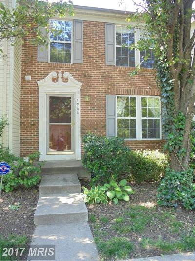 Alexandria VA Townhouse For Sale: $475,000
