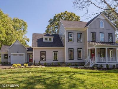 Fairfax Single Family Home For Sale: 11613 Popes Head Road