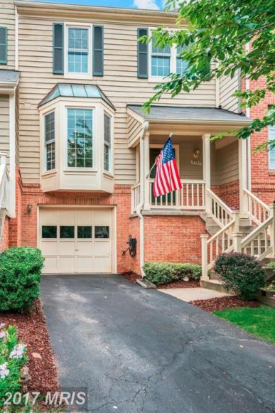 Reston Townhouse For Sale: 11765 Great Owl Circle