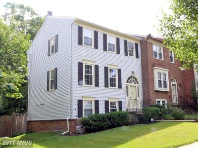 Springfield Townhouse For Sale: 7911 Bubbling Brook Circle