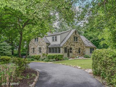 Fairfax Single Family Home For Sale: 2826 Cedarest Road