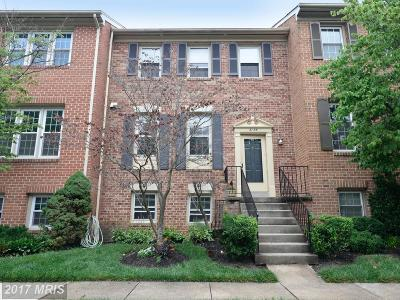 Oakton Townhouse For Sale: 3106 Bradford Wood Court