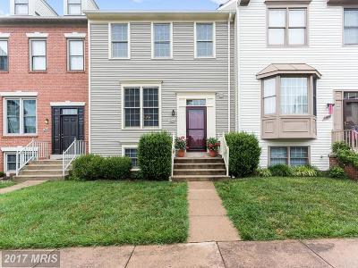 Fairfax Townhouse For Sale: 12652 Marcum Court