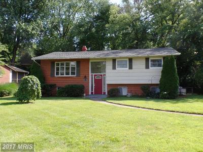 Falls Church Rental For Rent: 7111 Norwalk Street