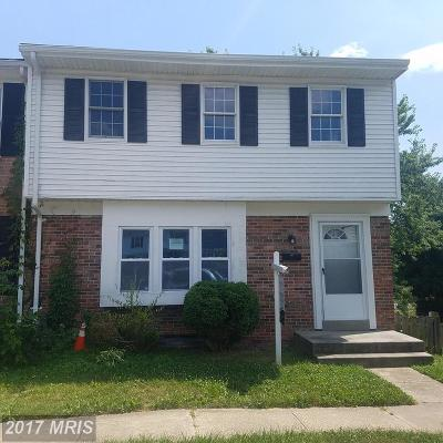 Edgewood Townhouse For Sale: 1450 Harford Square Drive