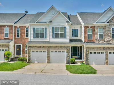Havre De Grace Townhouse For Sale: 135 Hokeland Drive
