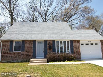 Edgewood Single Family Home For Sale: 640 Hornbeam Road