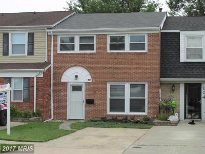 Harford Townhouse For Sale: 112 Driftwood Court