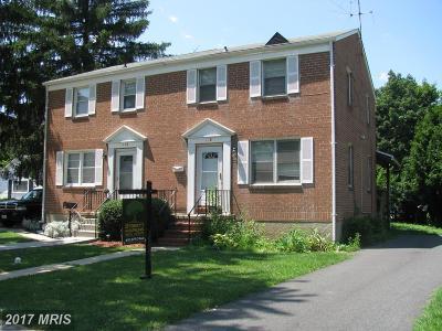 Baldwin, Bel Air Duplex For Sale: 118 Courtland Place