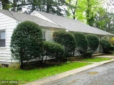 Bel Air Rental For Rent: 410 Franklin Street #1