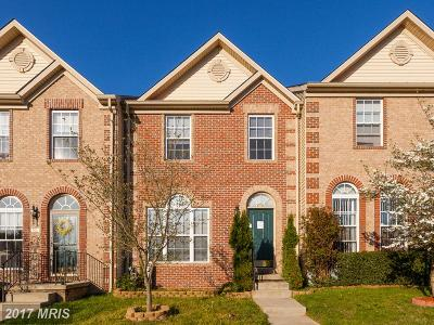 Harford Townhouse For Sale: 504 Callander Way