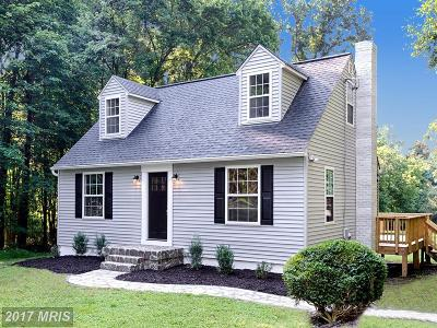 Joppa Single Family Home For Sale: 618 Whitaker Mill Road