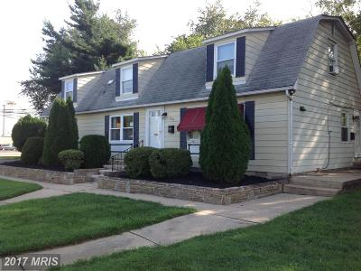 Havre De Grace Single Family Home For Sale: 850 Revolution Street