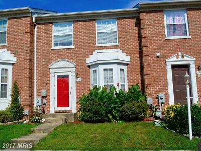 Aberdeen, Belcamp, Harvre De Grace, Havre De Grace Townhouse For Sale: 4418 Greenwich Court