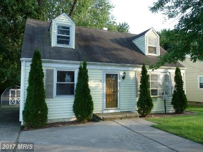 Havre De Grace Single Family Home For Sale: 1114 Revolution Street