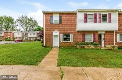 Joppa Townhouse For Sale: 309 Sweet Briar Court
