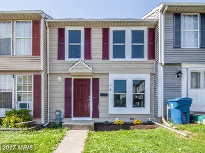 Edgewood Townhouse For Sale: 638 Harrpark Court