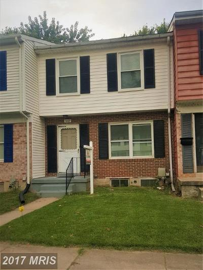 Edgewood Townhouse For Sale: 1407 Harford Square Drive