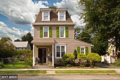 Havre De Grace Single Family Home For Sale: 561 Fountain Street