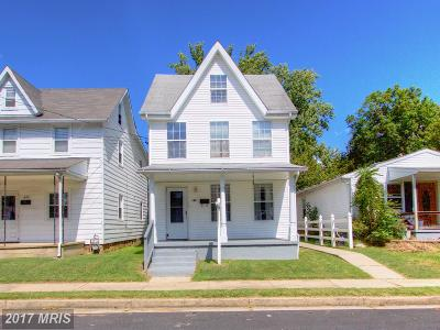 Havre De Grace Single Family Home For Sale: 833 Erie Street