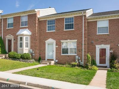 Abingdon MD Townhouse For Sale: $225,000
