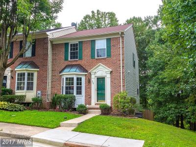 Abingdon Townhouse For Sale: 439 Oakton Way