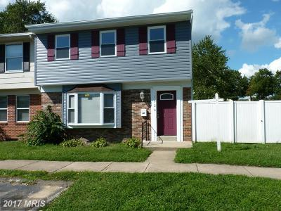 Edgewood Townhouse For Sale: 1526 Harford Square Drive