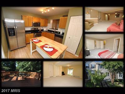 Aberdeen, Belcamp, Harvre De Grace, Havre De Grace Townhouse For Sale: 4256 Chapelgate Place
