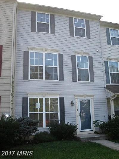 Harford Townhouse For Sale: 2412 Beaver Crossing Road
