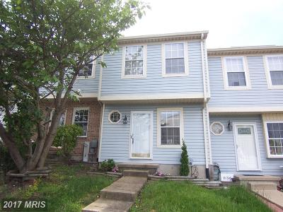 Edgewood MD Townhouse For Sale: $135,900