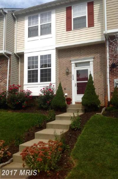 Abingdon Townhouse For Sale: 450 Deerhill Circle