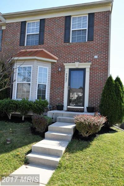 Abingdon Townhouse For Sale: 2925 Indiansummer Court