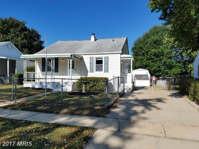 Aberdeen Single Family Home For Sale: 176 Darlington Avenue