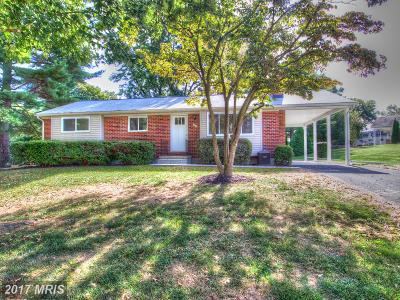 Bel Air Single Family Home For Sale: 7 Colonial Road