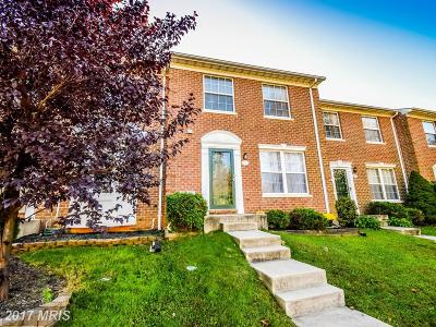 Abingdon Townhouse For Sale: 625 North Branch Court