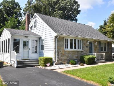 Havre De Grace Single Family Home For Sale: 306 Seneca Avenue